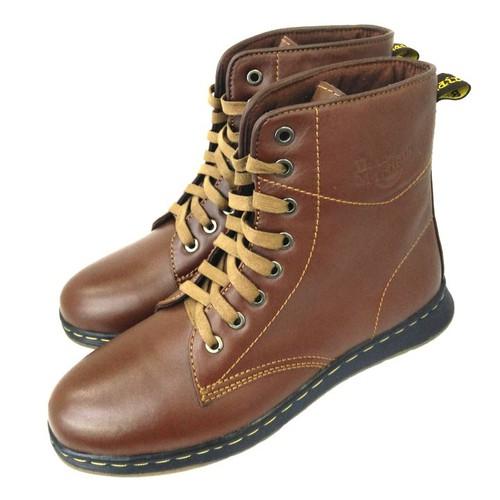Giày sneaker nam cổ cao  da bò thật kiểu dáng trẻ trung AD83N