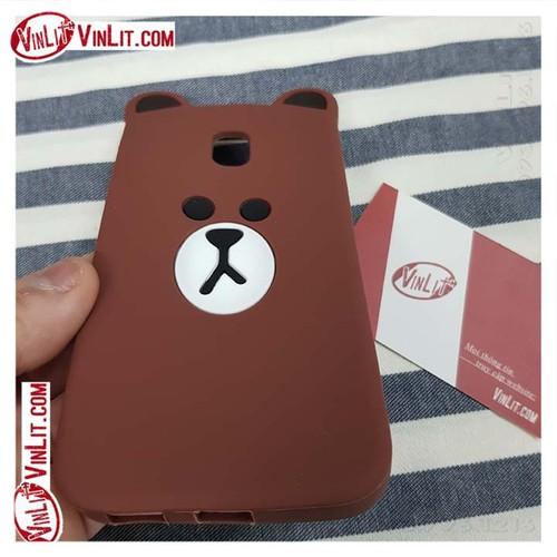 Ốp lưng Samsung J3 Pro ốp gấu Brown sillicon - 6296545 , 12884454 , 15_12884454 , 55000 , Op-lung-Samsung-J3-Pro-op-gau-Brown-sillicon-15_12884454 , sendo.vn , Ốp lưng Samsung J3 Pro ốp gấu Brown sillicon