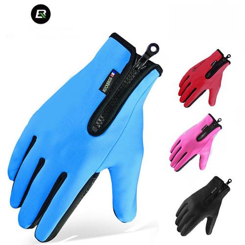 Găng tay chống thấm nước lót nỉ cảm ứng điện thoại -Găng tay đi xe máy