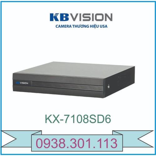 Đầu ghi hình 8 kênh 5 in 1 KBVISION KX-7108SD6 - 6290467 , 12876893 , 15_12876893 , 1393000 , Dau-ghi-hinh-8-kenh-5-in-1-KBVISION-KX-7108SD6-15_12876893 , sendo.vn , Đầu ghi hình 8 kênh 5 in 1 KBVISION KX-7108SD6