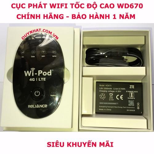 Thiết Bị Phát Sóng Wifi Wi-Pod 4G LTE - Cục Phát Chuẩn 4G