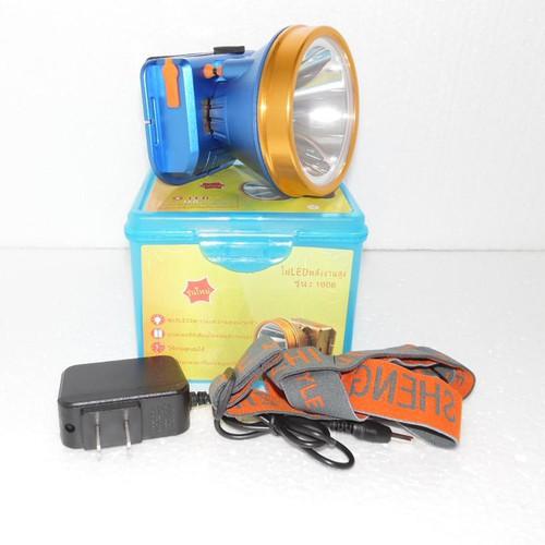 Đèn sạc pin đội đầu siêu sáng 1606-80W ánh sáng NTT