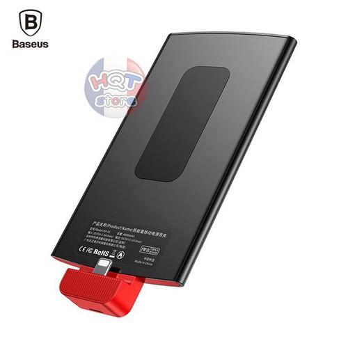 Ốp lưng pin sạc dự phòng gắn lưng Baseus Lightning 4000mAh cho IPhone