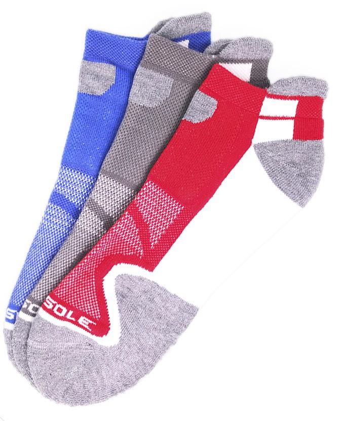 Combo 3 đôi vớ nam thể thao USA Multi Sport Sofsole 5