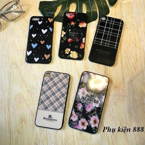 Ốp lưng Iphone 6, 6S, 7, X hoa kẻ