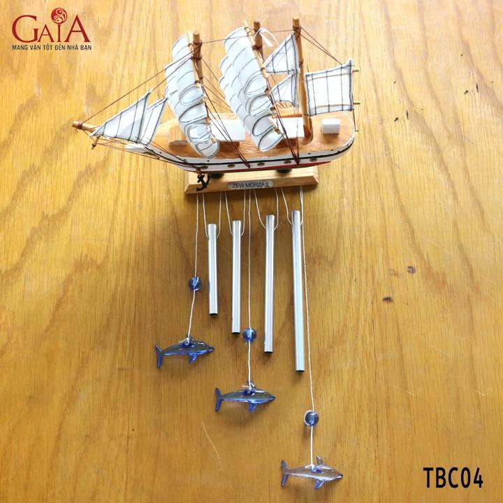 Thuyền buồm chuông gió 04 1