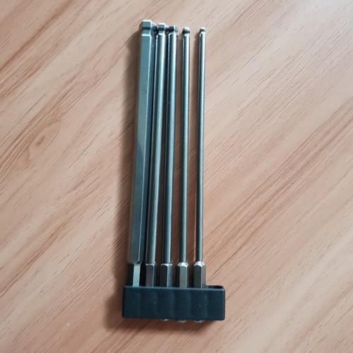 Bộ 5 đầu lục giác dài 150mm dành cho khoan, máy bắn vít - 6291576 , 12878443 , 15_12878443 , 150000 , Bo-5-dau-luc-giac-dai-150mm-danh-cho-khoan-may-ban-vit-15_12878443 , sendo.vn , Bộ 5 đầu lục giác dài 150mm dành cho khoan, máy bắn vít