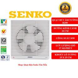 Quạt hút thông gió âm tường 2 chiều Senko H200 chính hãng - H200