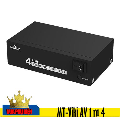 Bộ chia tín hiệu AV 1 ra 4 MT-Viki