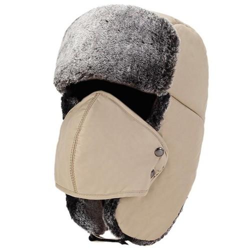 Mũ lót lông-Mũ nỉ nam mùa đông- Mũ ấm mùa đông- Mũ