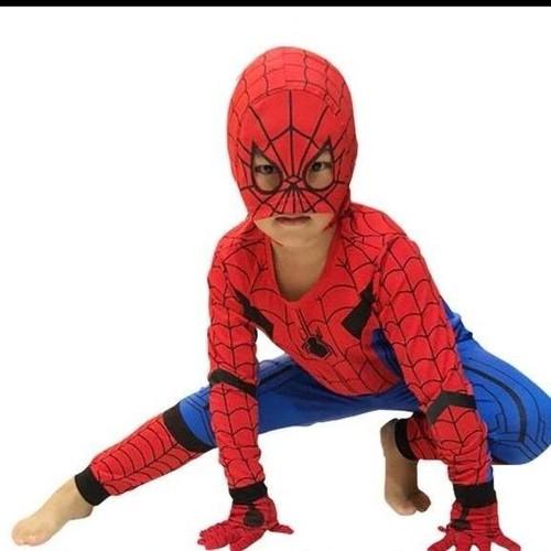bộ quần áo siêu nhân nhện có mũ trùm và găng tay - 6309398 , 12899231 , 15_12899231 , 190000 , bo-quan-ao-sieu-nhan-nhen-co-mu-trum-va-gang-tay-15_12899231 , sendo.vn , bộ quần áo siêu nhân nhện có mũ trùm và găng tay