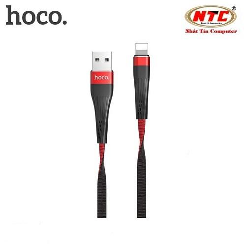 Cáp sạc-truyền dữ liệu Hoco U39 Lightning-Hãng phân phối chính thức - HOCOU39IP-DO