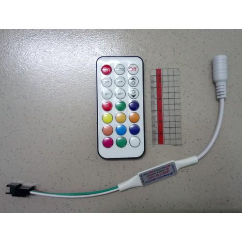 Điều khiển LED đúc, dây, cuộn bằng remote RF