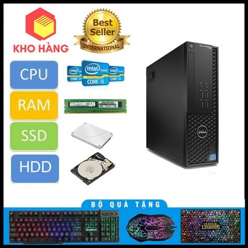 PCDell  T1700 SFF-Xeon E3-1240 V3-R32GB-SSD960GB-Quadro K600