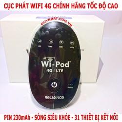 Bộ Phát Wifi Không Dây Wi-Pod 4G LTE - Router Wifi 4G
