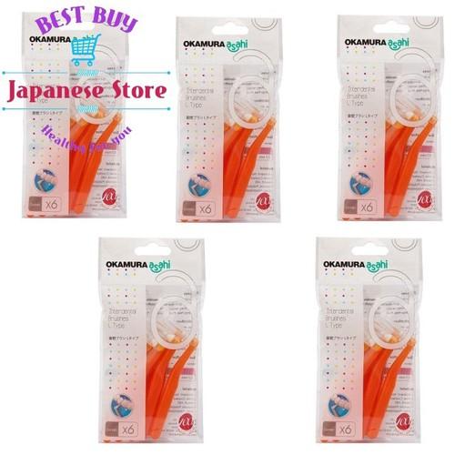 5 gói Bàn chải kẽ răng cao cấp Nhật bản dạng chữ L - 6318181 , 12910608 , 15_12910608 , 232000 , 5-goi-Ban-chai-ke-rang-cao-cap-Nhat-ban-dang-chu-L-15_12910608 , sendo.vn , 5 gói Bàn chải kẽ răng cao cấp Nhật bản dạng chữ L