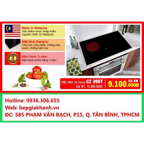 Bếp điện từ Canzy CZ 39DT nhập khẩu Malaysia - 6312559 , 12903328 , 15_12903328 , 7500000 , Bep-dien-tu-Canzy-CZ-39DT-nhap-khau-Malaysia-15_12903328 , sendo.vn , Bếp điện từ Canzy CZ 39DT nhập khẩu Malaysia