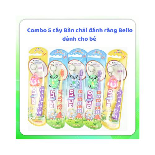 Combo 12 cây bàn chải đánh răng Bello cho bé lông mềm xuất Mỹ SIÊU HOT - 6316059 , 12907672 , 15_12907672 , 120000 , Combo-12-cay-ban-chai-danh-rang-Bello-cho-be-long-mem-xuat-My-SIEU-HOT-15_12907672 , sendo.vn , Combo 12 cây bàn chải đánh răng Bello cho bé lông mềm xuất Mỹ SIÊU HOT