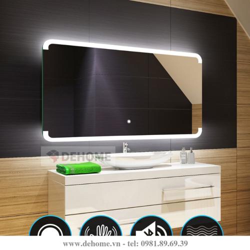 Gương LED cảm ứng Dehome phòng tắm D030