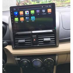 MÀN HÌNH ANDROID CHẠY SIM 4G 10.1 ICNH THEO XE VIOS 2014 - 2017, có wifi, khiển giọng nói, bảo hành 12 tháng
