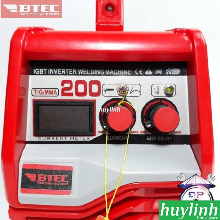 Máy hàn Btec TIG-MMA 200 PRO 3