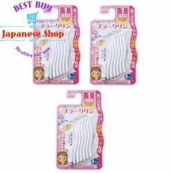 3 gói Bàn chải kẽ răng cao cấp Nhật dạng chữ L gói 6 chiếc - DR.POLIR