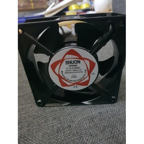Quạt tản nhiệt 12x12 220v Sunon