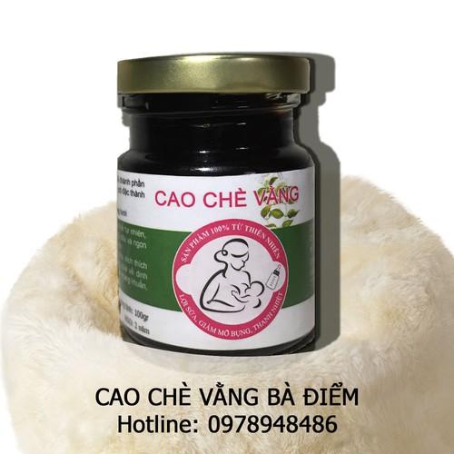Cao Chè Vằng Lợi Sữa Giảm cân Bà Điểm Dạng Hũ - 6324406 , 12918763 , 15_12918763 , 150000 , Cao-Che-Vang-Loi-Sua-Giam-can-Ba-Diem-Dang-Hu-15_12918763 , sendo.vn , Cao Chè Vằng Lợi Sữa Giảm cân Bà Điểm Dạng Hũ