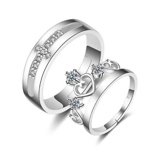 Nhẫn đôi King - Queen
