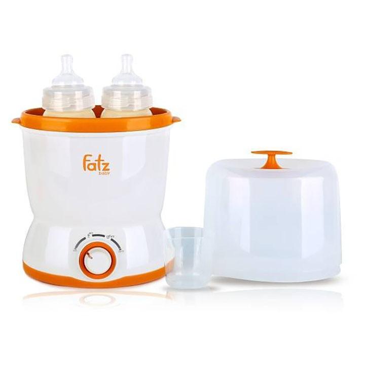 Máy hâm sữa 2 bình Fatzbaby FB3019SL
