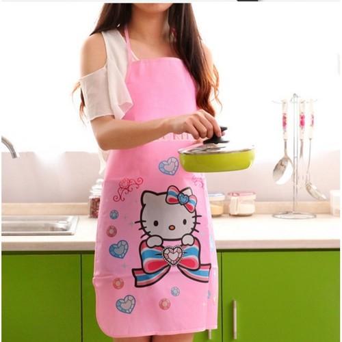 02 tạp dề chống thấm nhà bếp cực yêu cho các mẹ