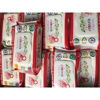 Combo 10 gói khăn ướt không mùi 100 tờ Baby Thiên Phúc - TP100 1