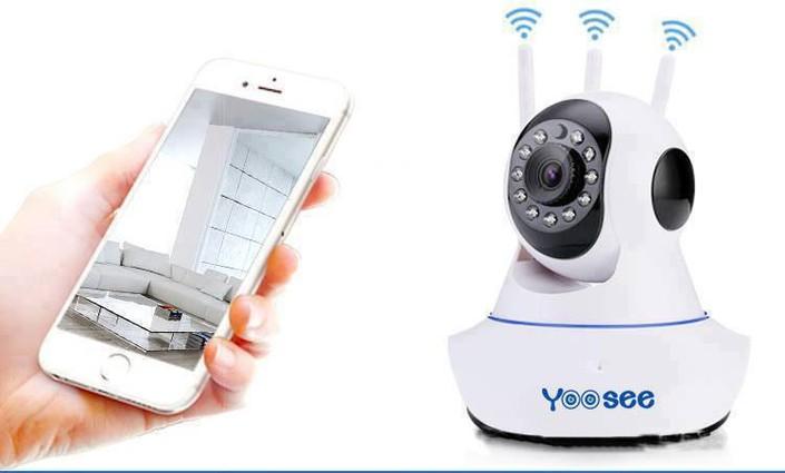 Camera Wifi Ip Yoosee 3 Anten HD720 2