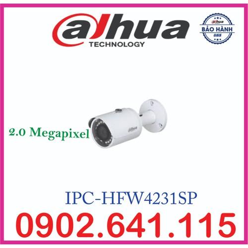 CAMERA DAHUA 2.0MP IPC-HFW4231SP H.265