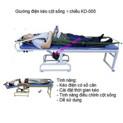 Giường kéo giãn và nắn chỉnh cột sống lưng cổ toàn thân bằng điện - 6323559 , 12917682 , 15_12917682 , 14490000 , Giuong-keo-gian-va-nan-chinh-cot-song-lung-co-toan-than-bang-dien-15_12917682 , sendo.vn , Giường kéo giãn và nắn chỉnh cột sống lưng cổ toàn thân bằng điện