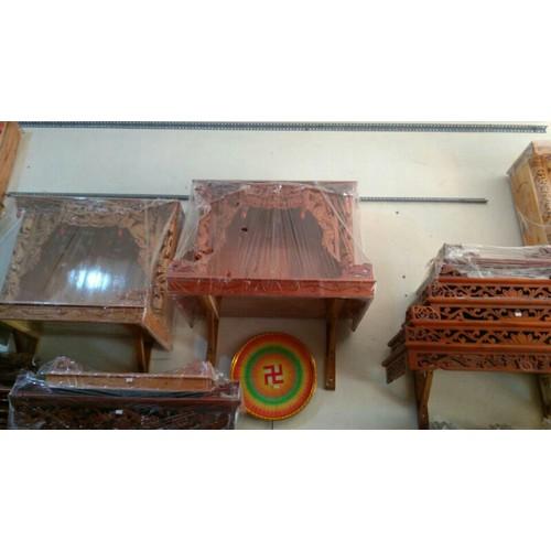 Trang Thờ Bàn Thờ nhà treo tường 81cm gỗ Xoan