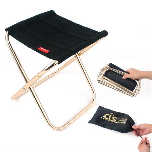 Ghế mini xếp gọn bỏ túi camping gold aluminium 7075 - best seller tony