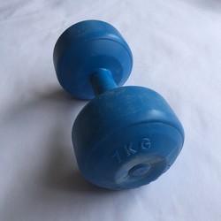 Tạ tay nhựa 7kg, tạ nhựa, tạ tay 7kg, dụng cụ tập tay, tạ nhựa 7kg ruột là ximăng non, tạ khánh sport long thành