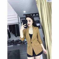 áo khoác vest blazer