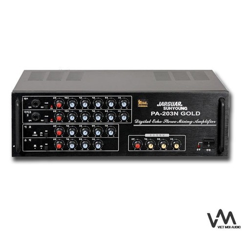 Amply karaoke Jarguar PA 203 GoLd -BT