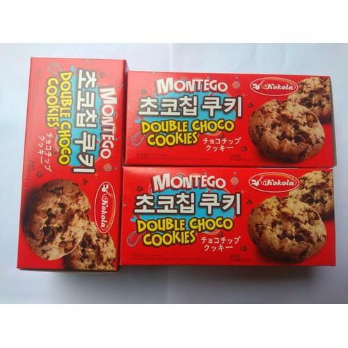 Combo 5 Bánh Montego Chocochip 85gr