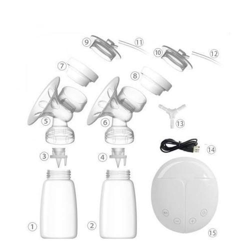 Đầu nối đôi số 13 máy hút sữa điện đôi Real bubee
