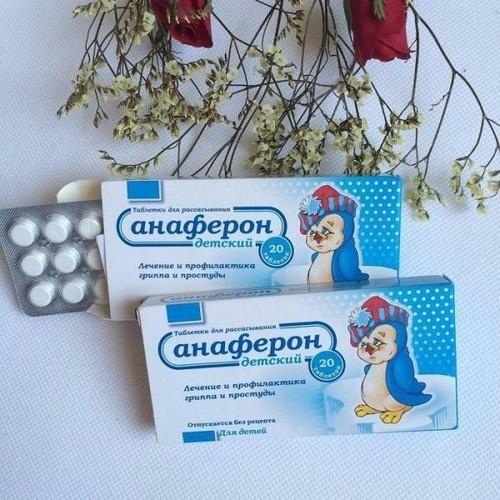 Tăng sức đề kháng ngừa cảm lạnh và cúm cho bé Anaferon