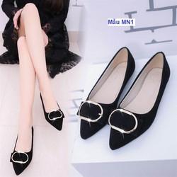 Giày bệt nữ màu đen