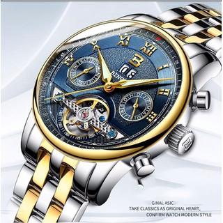 Đồng hồ cơ lộ máy nam Genuine Binger 0909 - Đồng hồ cơ lộ máy 0909 thumbnail