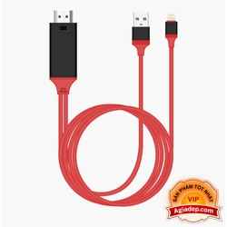 Dây chuyển tín hiệu iphone Lightning To HDMI - Hàng Xịn