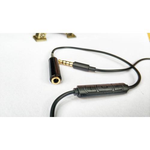 Dây nối dài tai nghe có mic - phím bấm Full chức năng
