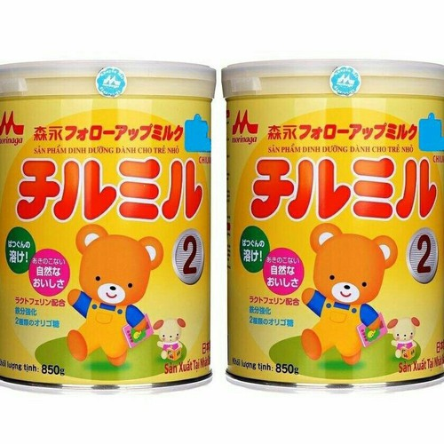 Combo 2h Sữa Morinaga 850g - sữa s2 T09 2020