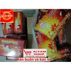 Combo Pháo điện đỏ không khói 25 k 1 quả khi mua 1 hộp 10 quả