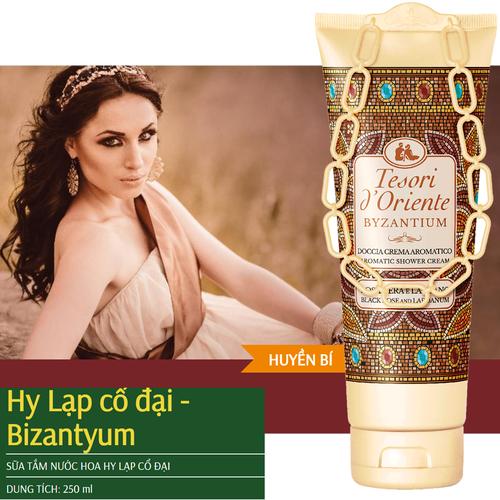 Sữa tắm nước hoa Byzantium Hy Lạp Cổ đại 250ml Nhập khẩu từ ITALY